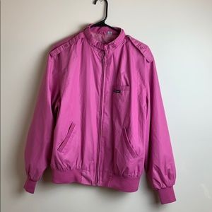 Members Only Vintage Bubble Gum Pink Jacket